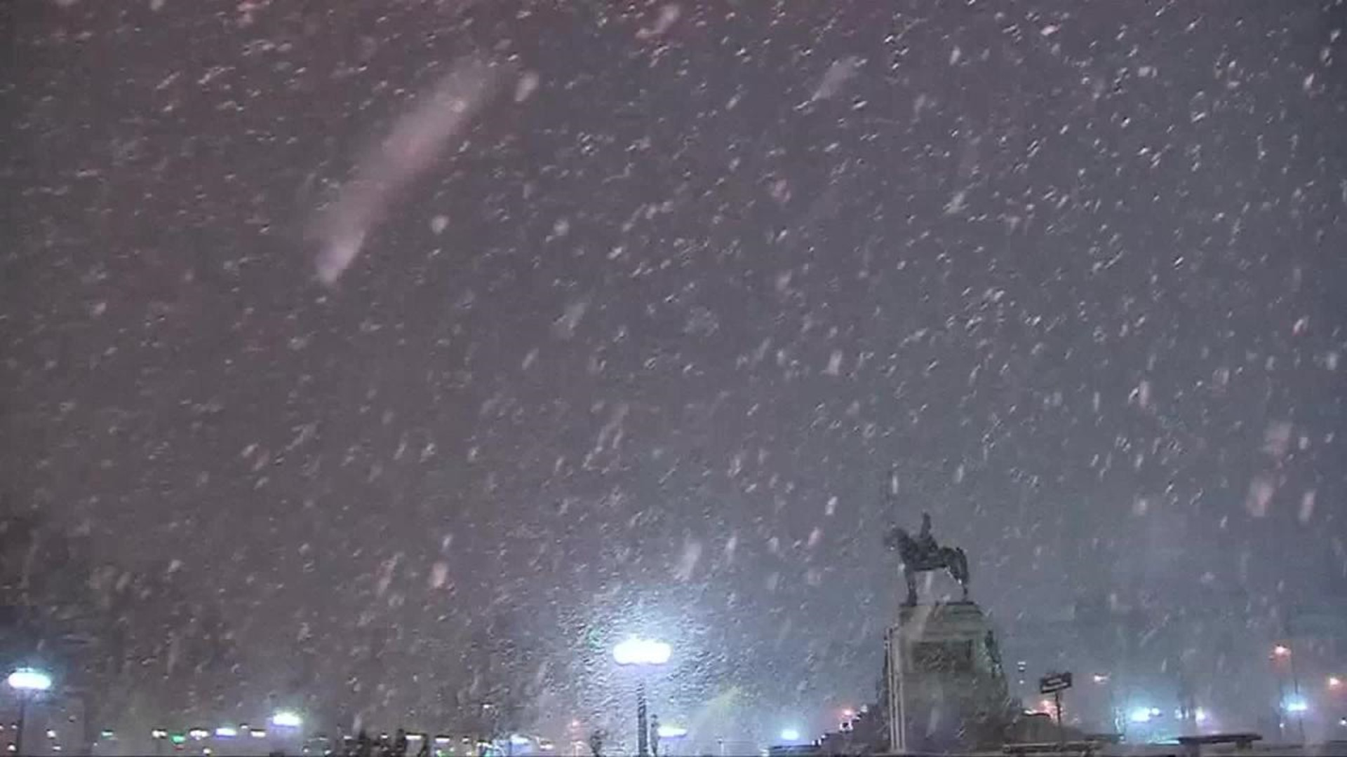 Snow Leaves 280k In The Dark In Chile Wthr Com