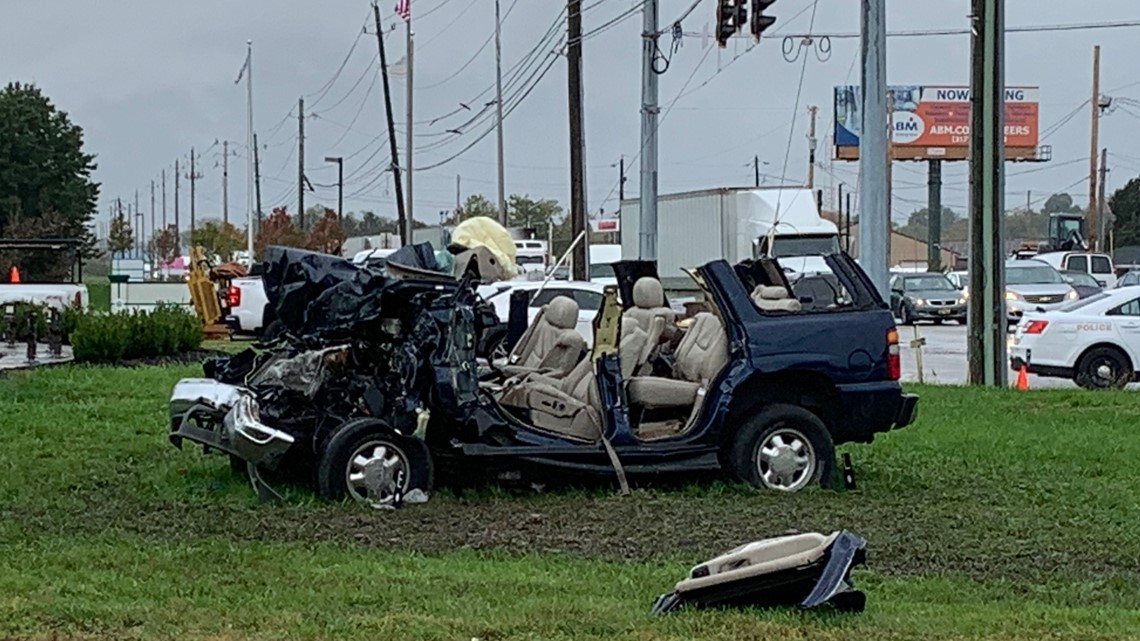 Serious crash under investigation on Indy's west side