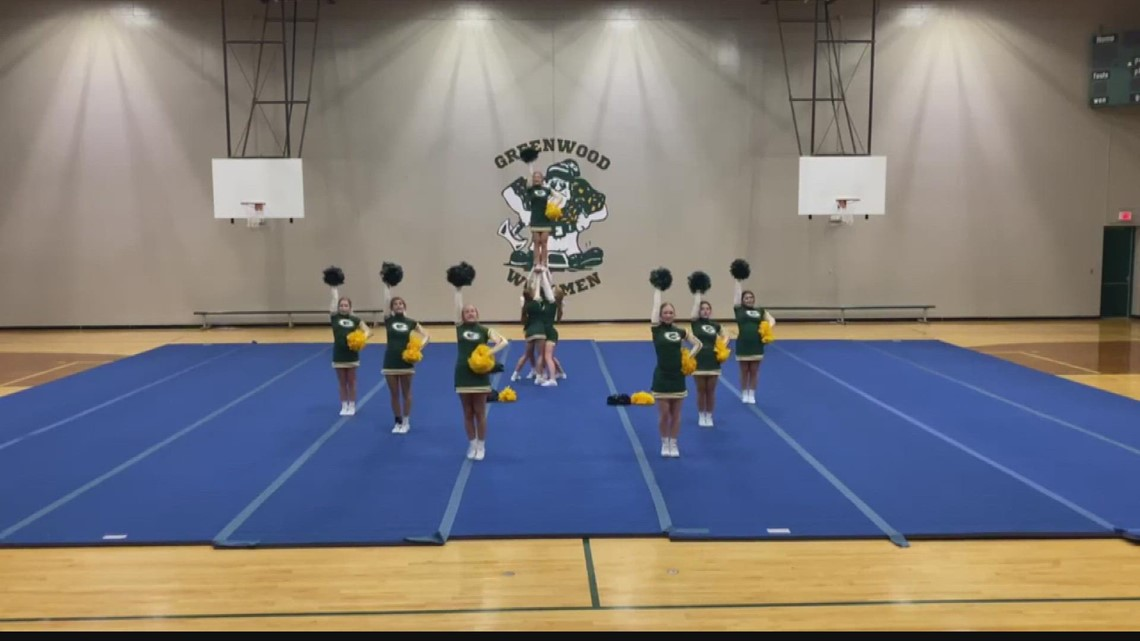 Operation Football Cheerleaders of the Week: Greenwood High School
