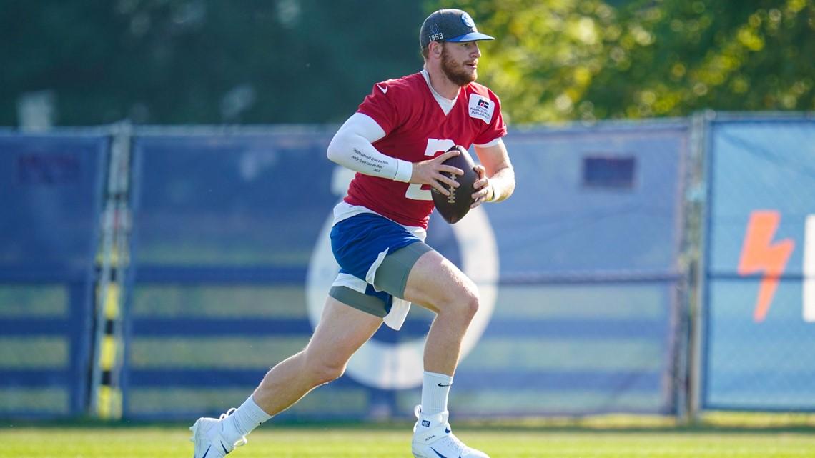 Wentz remains hopeful of making Colts debut as starter