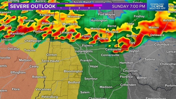 Live Doppler 13 Weather Blog: Soggy Sunday with continued risk of severe weather