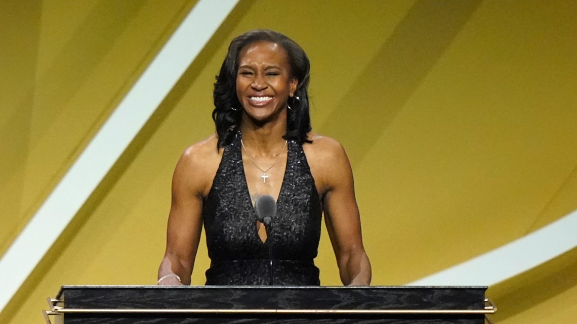 Indiana Fever legend Tamika Catchings inducted in Hall of Fame