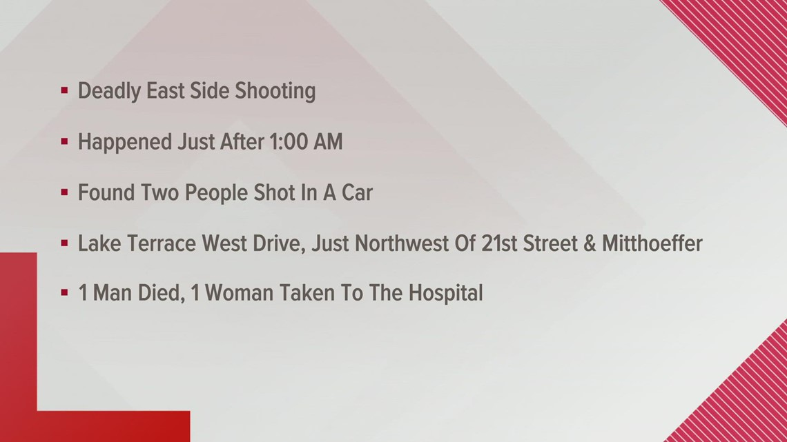 2 shot, 1 dead in car at west side apartment complex