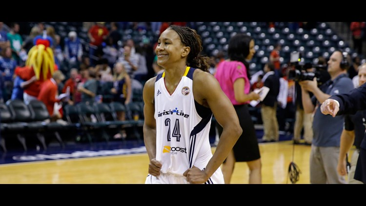 Tamika Catchings named to Women's Basketball Hall of Fame