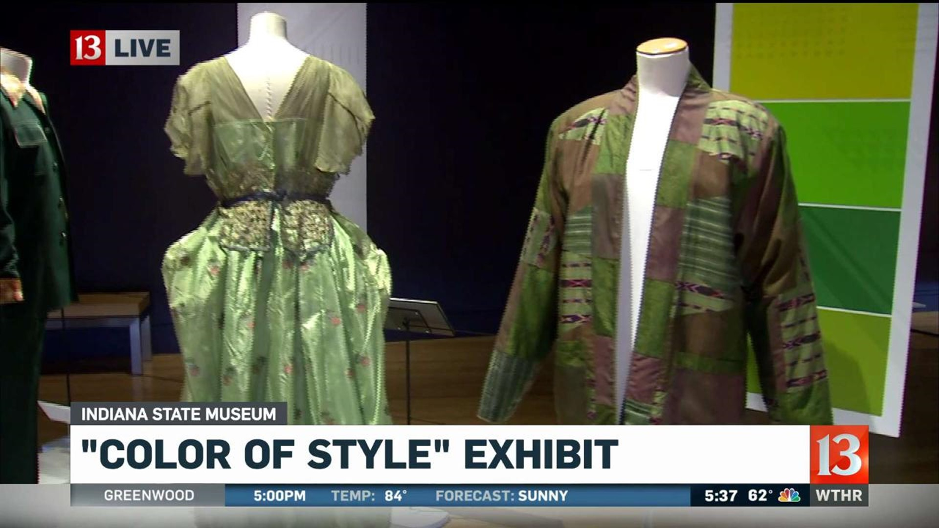 State Museum S Color Of Style Celebrates Indiana S Fashion Roots Wthr Com