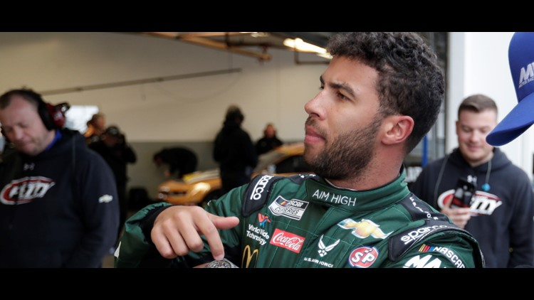Bubba Wallace To Drive Blacklivesmatter Car For Nascar Race Wednesday Wthr Com