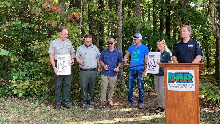 New biking trail opens in Indiana's Brown County State Park