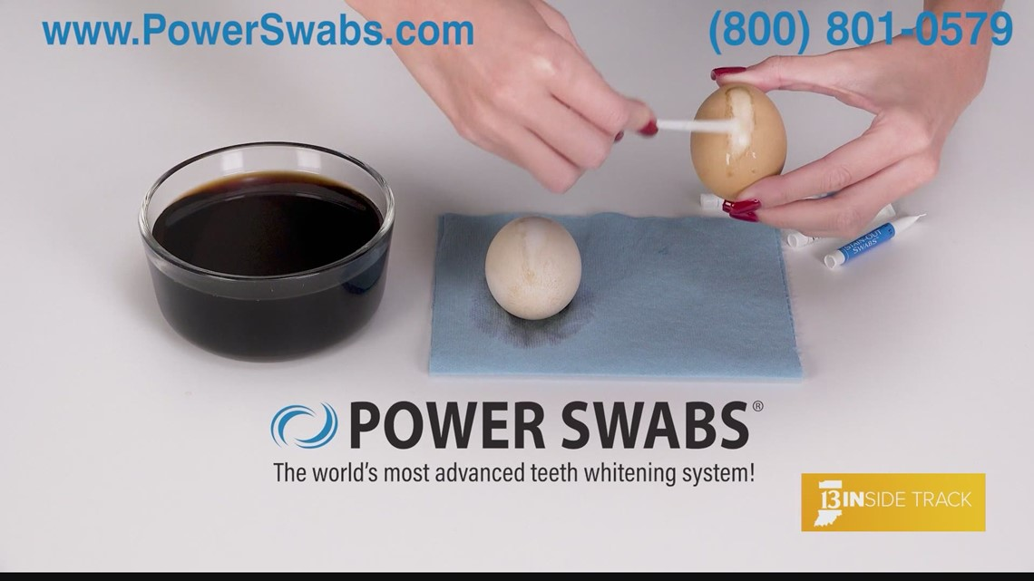Power Swabs shows 13INside Track the path to a brighter smile
