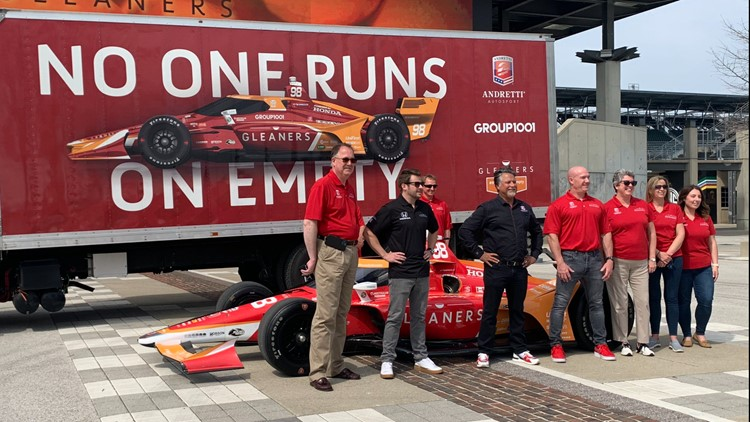 Gleaners Food Bank of Indiana sponsoring Marco Andretti car for Indy 500