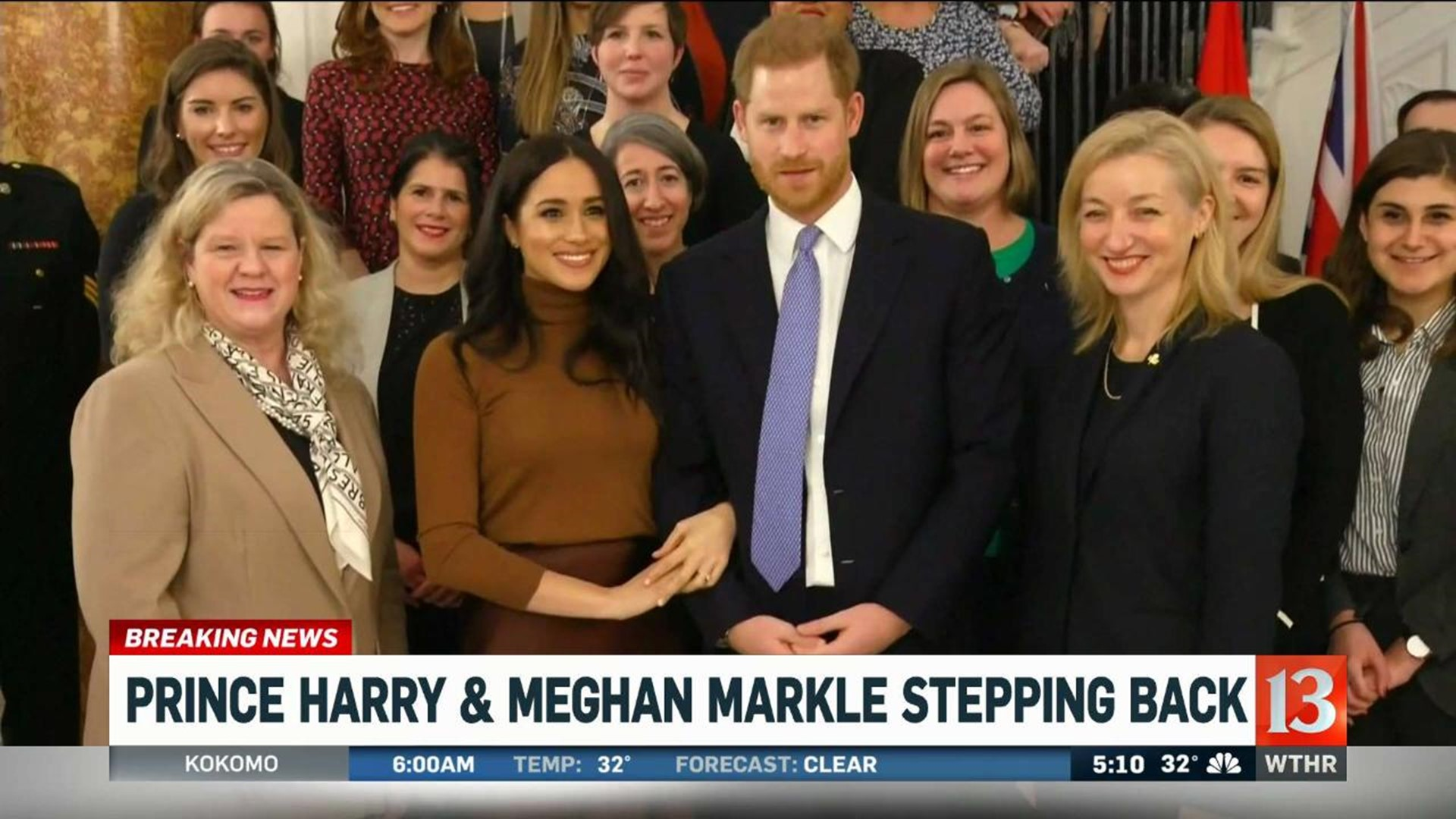 meghan markle prince harry announce they are stepping down as senior members of royal family wthr com prince harry and meghan stepping back