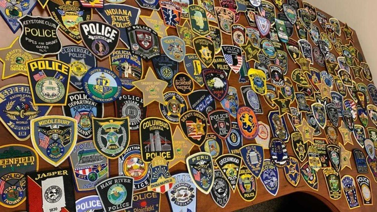 Police agencies from across the country send 200 patches to honor Samaria Blackwell