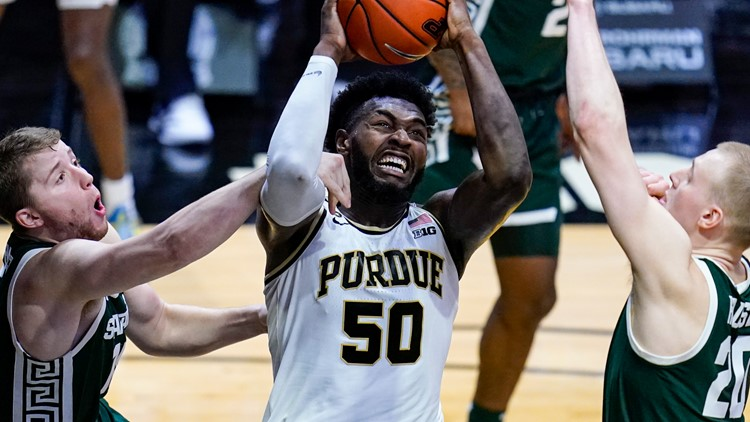 Williams takes lead late, lifting Purdue past Michigan St.