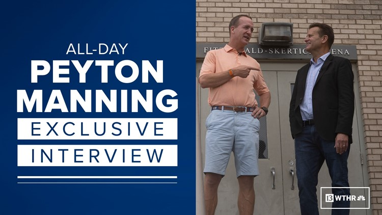 Peyton Manning exclusive interview with Dave Calabro