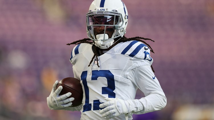 TY Hilton back at practice after neck injury