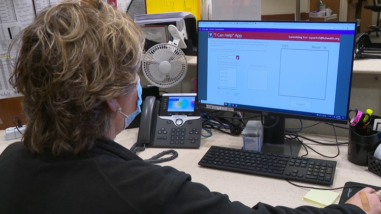 IU Health develops app to help fill staff shortages