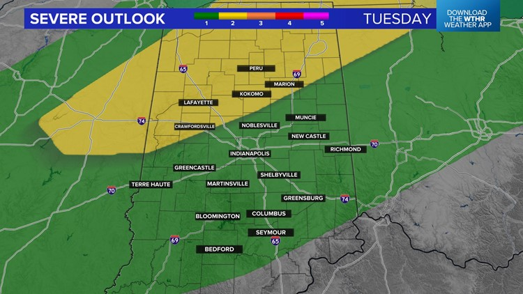 Live Doppler 13 Weather Blog: Storms likely Tuesday night and some could be severe