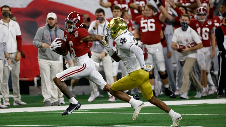 Rose Bowl: Alabama rolls to 31-14 win over Notre Dame