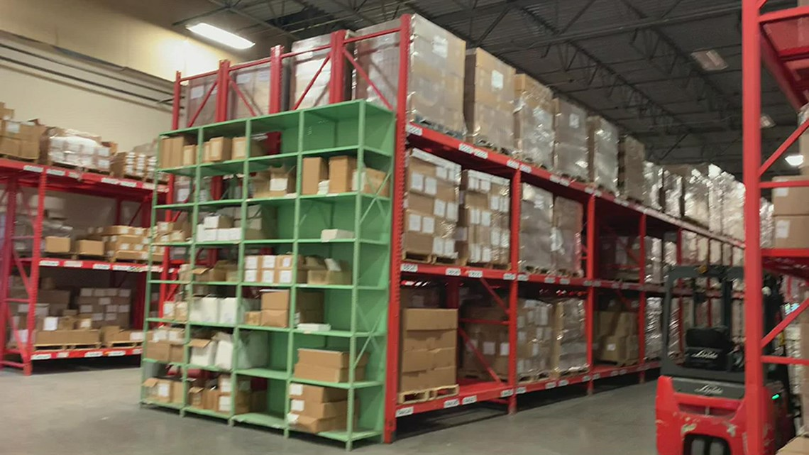 U.S. Customs and Border Protection Indianapolis warehouse