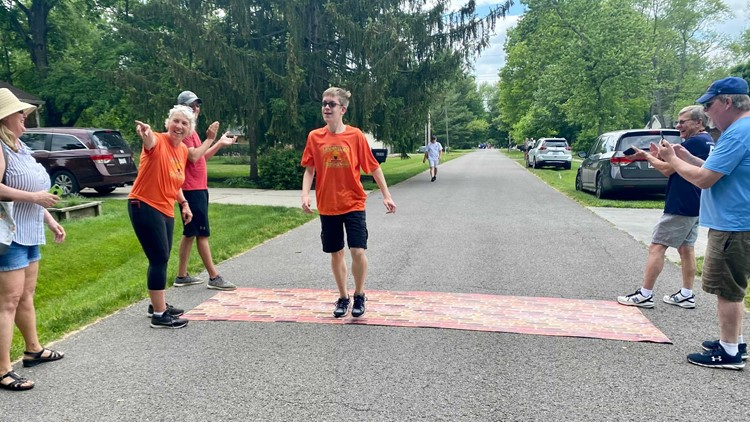 Special Olympic athletes finish 500 Festival Mini-Marathon for the first time