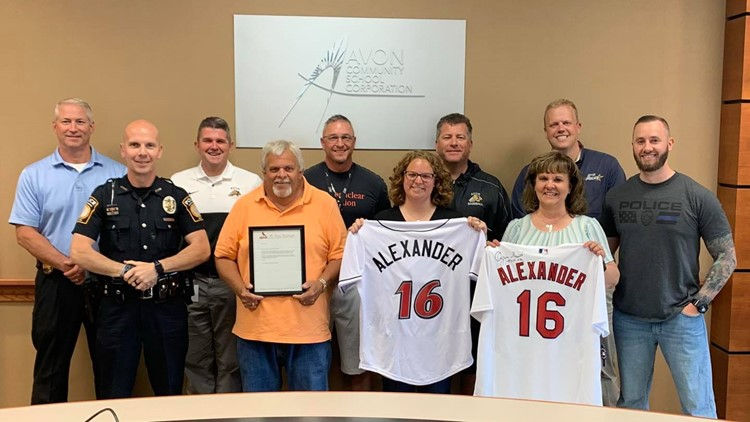 Avon Police Department surprises family of FedEx mass shooting victim with special gift