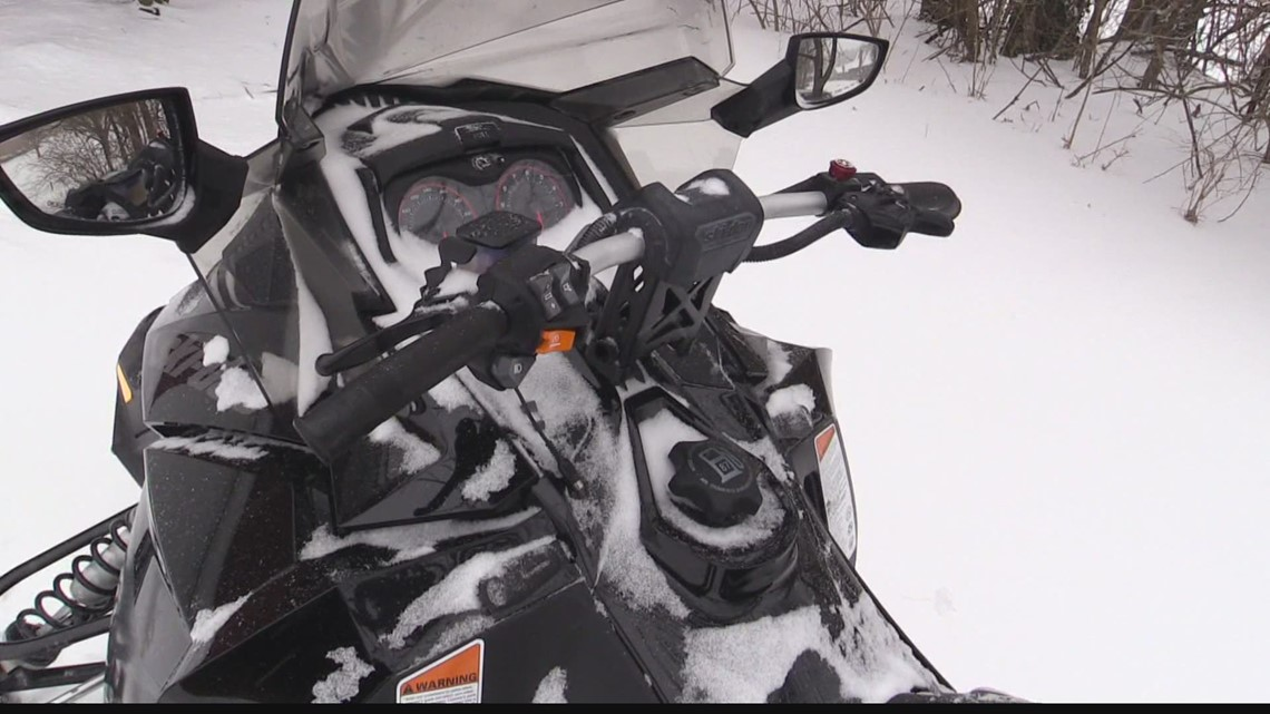 Johnson County community helps with snowmobiles