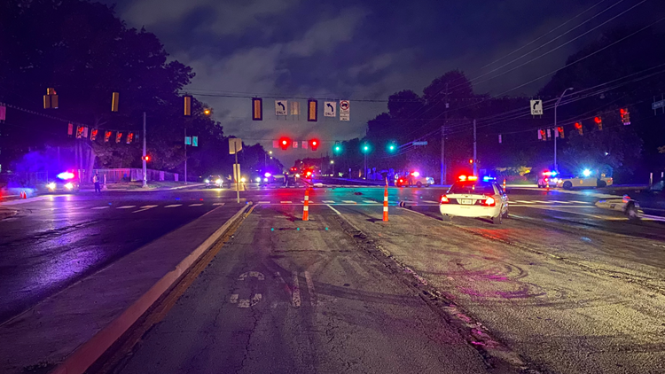 Motorcyclist injured in hit-and-run crash on Indy's north side