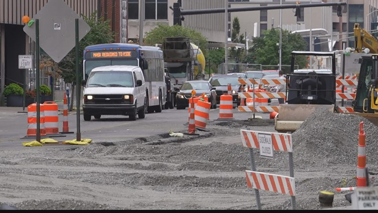 More street construction coming to downtown