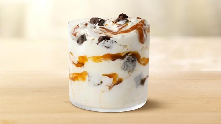 McDonald's celebrates National Caramel Day with new McFlurry flavor