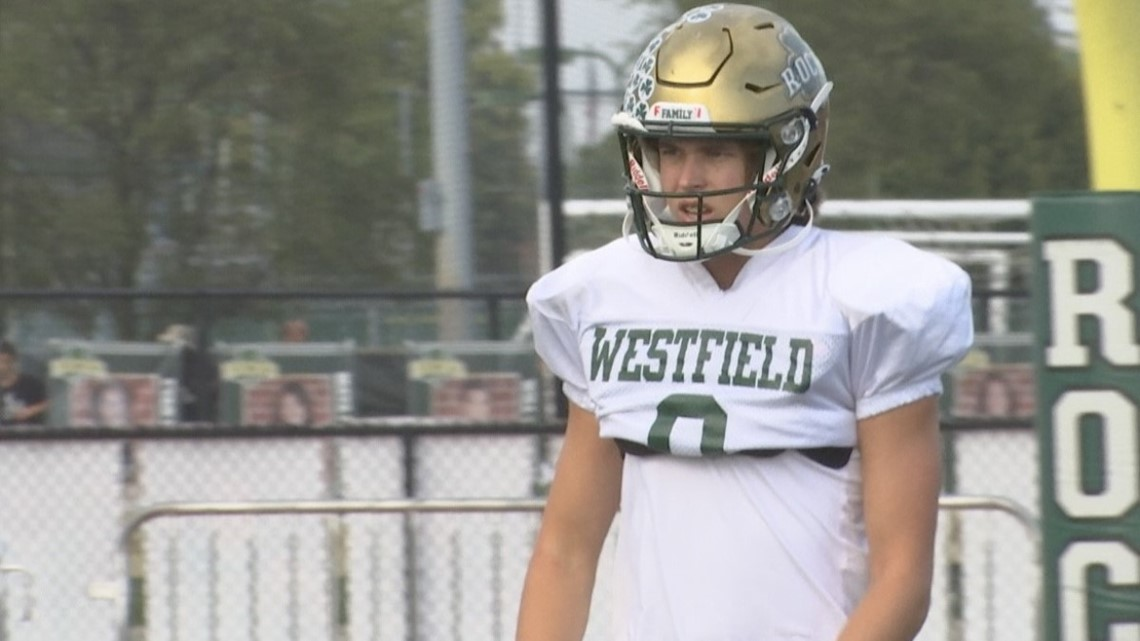 Inspiring Indiana: Westfield kicker raising money for childhood cancer research