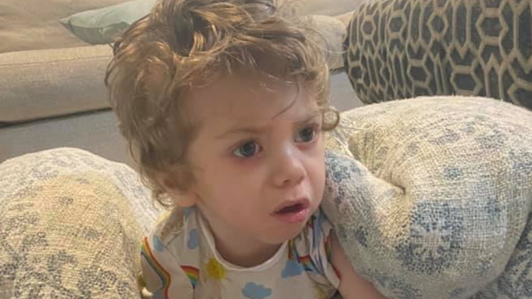 Zionsville family spreads 'Light for Levi' as toddler's recovery from near drowning goes on