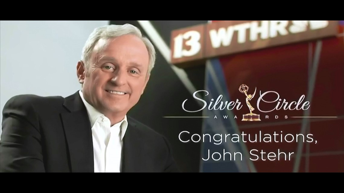 WTHR Anchor John Stehr inducted into EMMY Awards Silver Circle, station wins 16 awards