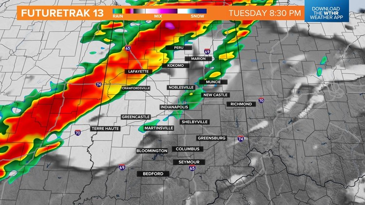 Live Doppler 13 blog: Strong to severe thunderstorms possible Tuesday