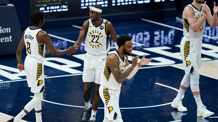 LeVert's late burst helps Pacers beat Hawks 133-126