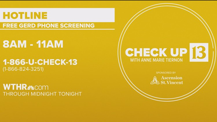 Check Up 13: Acid reflux screening
