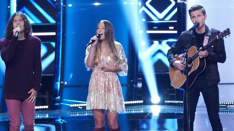 Fort Wayne father and South Bend sibling trio both dominate on 'The Voice'