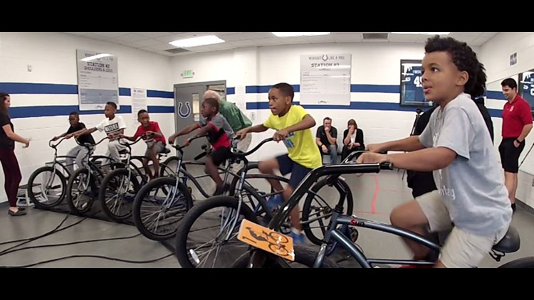 Bike program helps get kids moving in the right direction