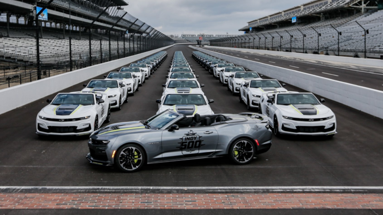 IMS gives first look at this year's 500 Festival car