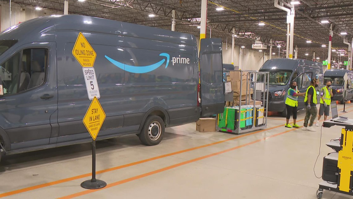 New Indianapolis Amazon delivery station hiring