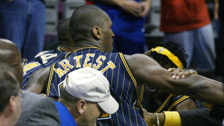 Netflix documentary on infamous Pacers-Pistons brawl now streaming