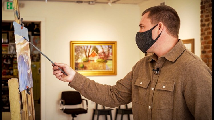 Best You: Indianapolis painter used art to survive pandemic