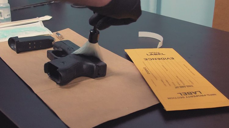 Tracking guns used in Indianapolis violent crimes