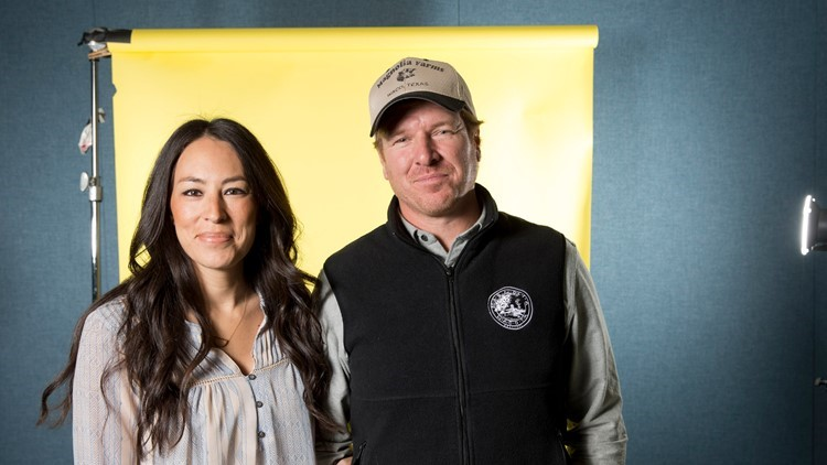 Chip and Joanna Gaines celebrate Baylor national championship in Indy