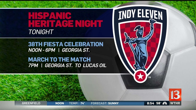 WATCH: Fernando Fiore joins Indy Eleven's Hispanic Heritage Night