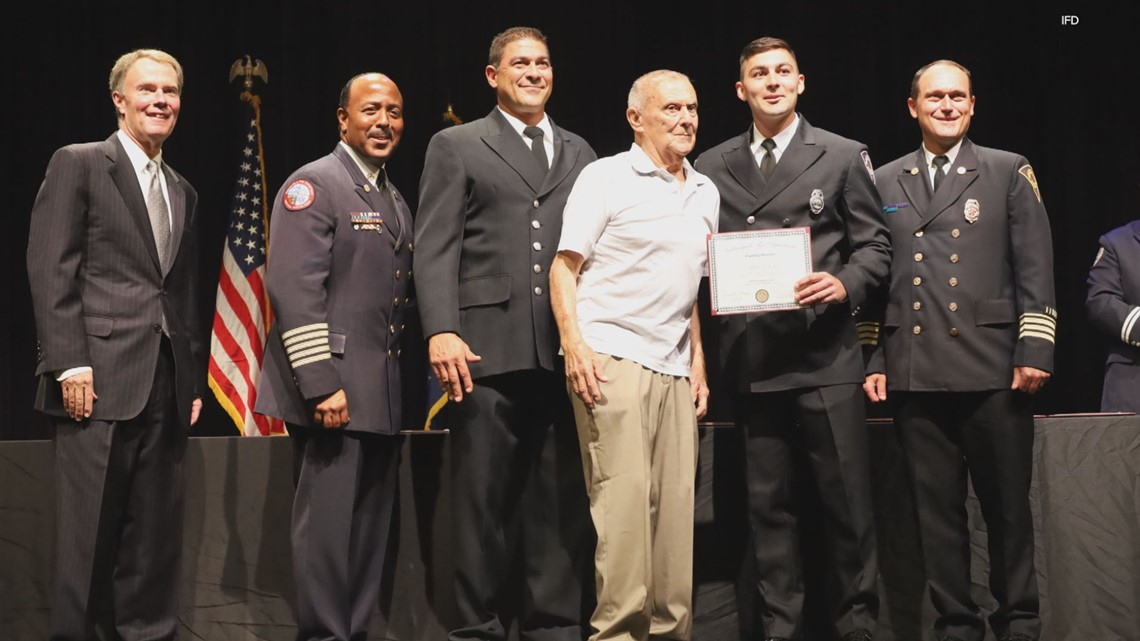 New recruit is 4th generation Indianapolis firefighter
