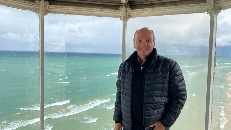 Chuck's Big Adventure: Lighthouses of Michigan