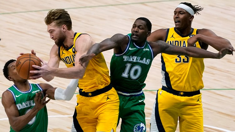 Sabonis, Brogdon lead Pacers past Doncic-less Mavs, 109-94