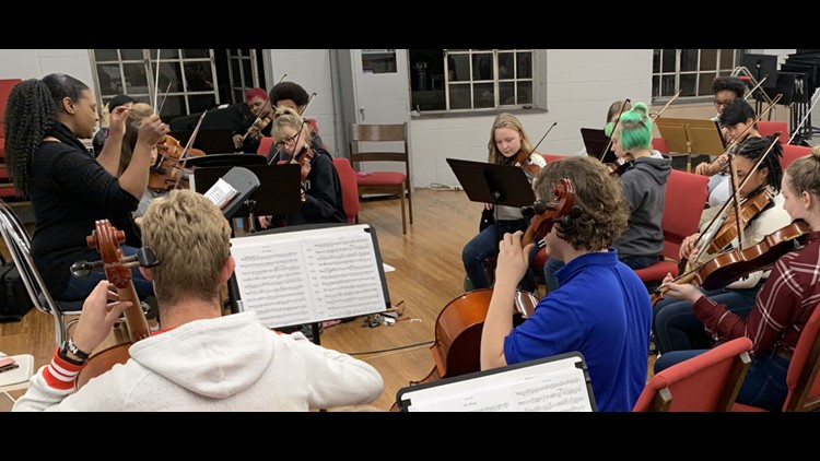 Metropolitan Youth Orchestra teaches life skills through music