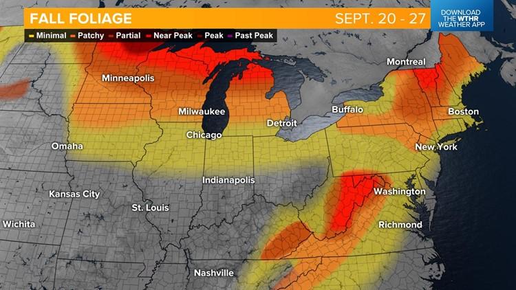 Live Doppler 13 Weather Blog: Fall foliage update