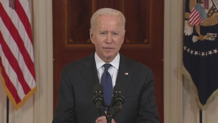 President Biden on Gaza Strip cease fire