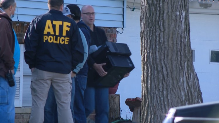 EXCLUSIVE VIDEO: Federal agents search Indianapolis home of FedEx mass shooting suspect
